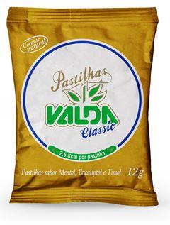 Pastilha Classic Valda Metol / Eucaliptol / Timol Sache 12g