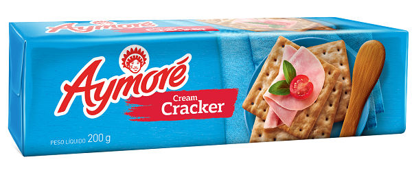 Biscoito Aymoré Cream Cracker 200g