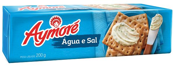 Biscoito Aymoré Água/Sal 200g