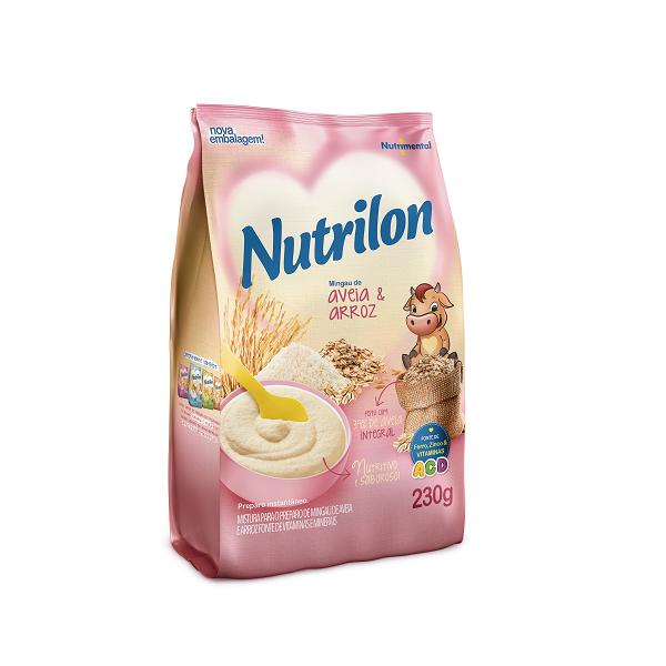 MINGAU  NUTRIBOM AVEIA E ARROZ UNIDADE 230G