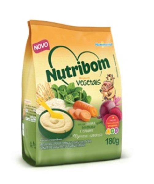 MINGAU  NUTRIBOM VEGETAIS UNIDADE 180G