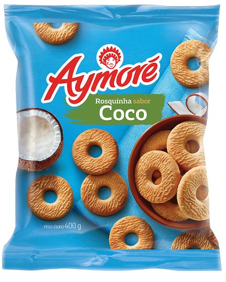 Biscoito Rosquinha Aymoré Coco 400g