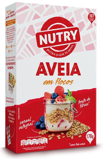 AVEIA FLOCOS NUTRY  CAIXETA 170G