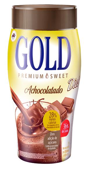 ACHOCOLATADO VITAMINADO GOLD DIET UNIDADE 200G