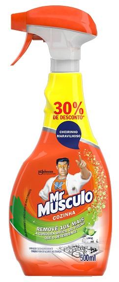 LIMPADOR COZINHA (APARELHO) MR MÚSCULO LIMÃO PROMOCIONAL 500ML