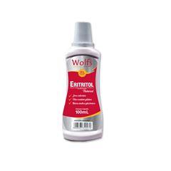 Adocante Liquido Eritritol Natural Wolfs 100ml