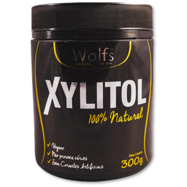 ADOÇANTE  PÓ XYLITOL WOLFS  300G