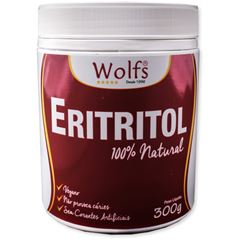 Adoçante Pó Eritritol Wolfs 300g