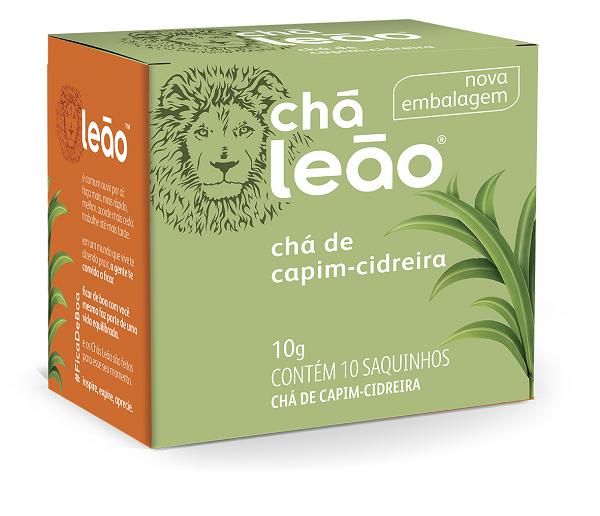 CHÁ  LEÃO CAPIM CIDREIRA UNIDADE (COM 10 SACHES)
