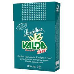 Pastilha Diet Valda Metol / Eucaliptol / Timol Flitop 24g