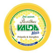 Pastilha Antigripal Valda Própolis E Gengibre  50g