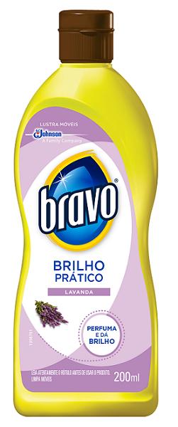 LUSTRA MOVEIS BRAVO LAVANDA BRILHO INTENSO 200ML
