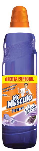 LIMPADOR PERFUMADO MR MÚSCULO LAVANDA PROMOCIONAL 900ML