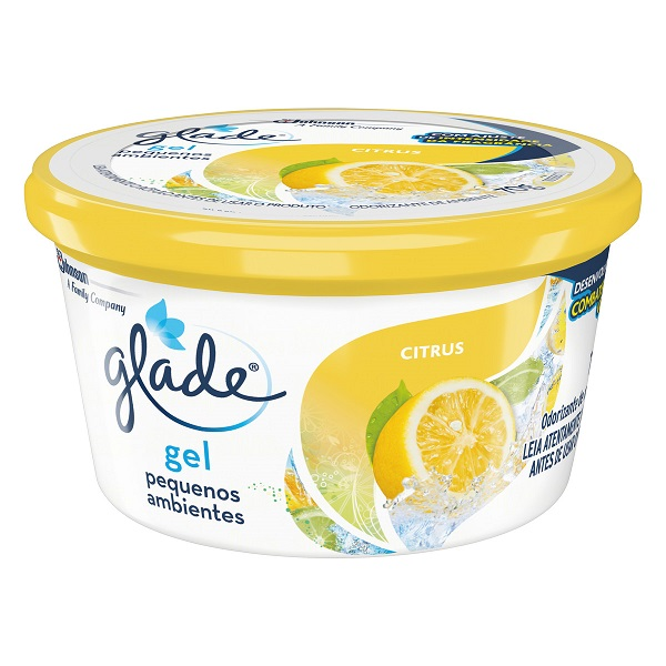 Aromatizante Gel Glade Citrus  70g