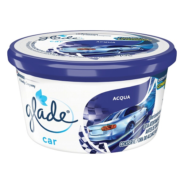 AROMATIZANTE GEL GLADE CAR ACQUA  70G