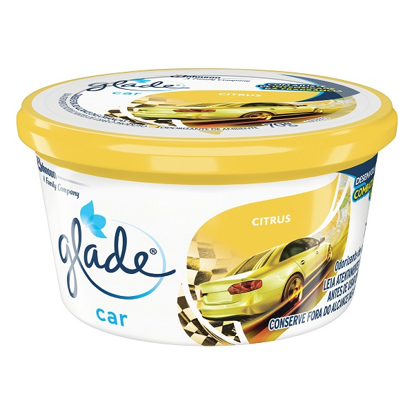 AROMATIZANTE GEL GLADE CAR CITRUS  70G