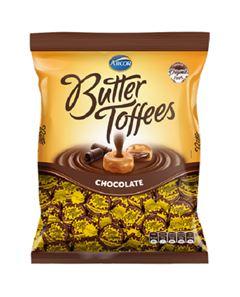 Bala Recheada Arcor Butter Toffe Chocolate Pacote 500g