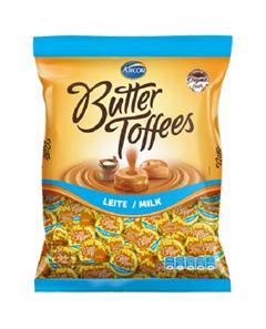 Bala Recheada Arcor Butter Toffe Leite Pacote 500g