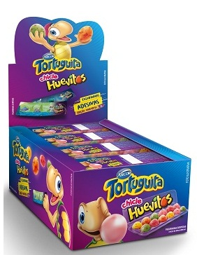 CHICLE HUEVITOS ARCOR TORTUGUITA DISPLAY 300G