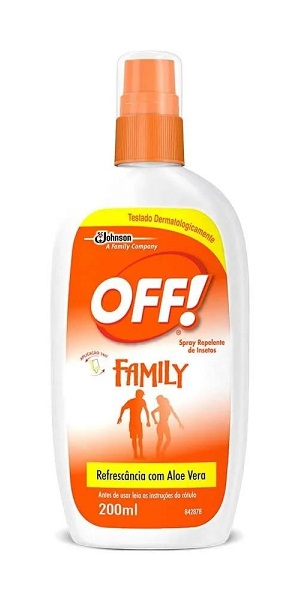 REPELENTE SPRAY OFF  REFRESCANTE FAMILY 200ML