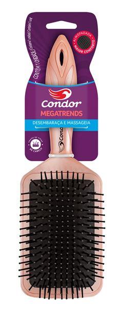Escova De Cabelo Megatrends Retangular Condor Unidade  Ref.9640