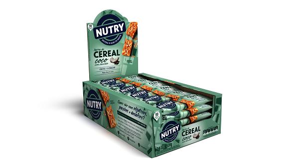 BARRA DE CEREAIS  NUTRY COCO COM CHOCOLATE DISPLAY 528G(24X22G)