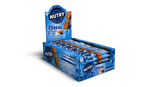 BARRA DE CEREAIS  NUTRY CASTANHA DE CAJU COM CHOCOLATE DISPLAY 528G(24X22G)