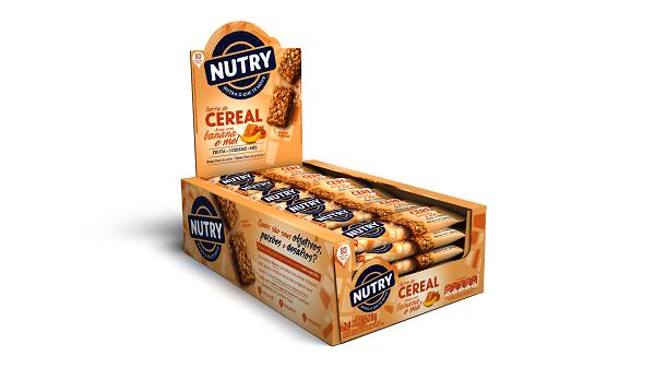 BARRA DE CEREAIS  NUTRY AVEIA / BANANA / MEL DISPLAY 528G(24X22G)